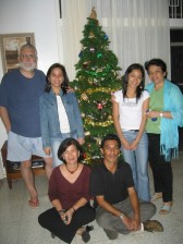 At Staff Housing #15, Christmas 2005