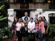 At Sulyap, San Pablo, with Development Office colleagues in 2008