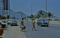 Along Copacabana