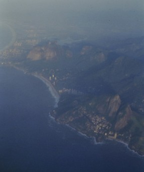The coast south of Rio