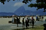 The beach at Flamengo
