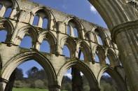 Tiers of gothic windows