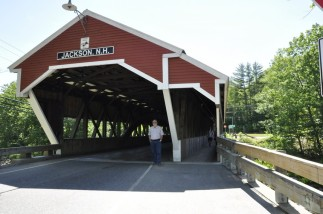 One of the many covered bridges of New Hampshire
