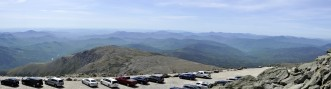 At the top of Mt Washington, NH