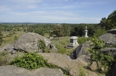 View northwest from Little Round Top