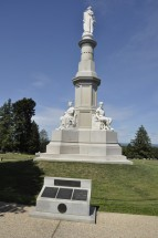 Soldiers' National Monument, where Lincoln delivered his Gettysburg Address