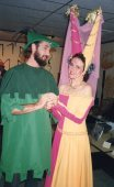 Michael Price and Rebecca Nelson as Robin Hood and Maid Marian