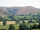 The entrance to Dovedale, and Thorpe Cloud