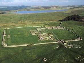Husesteads from the air (Source: English Heritage)