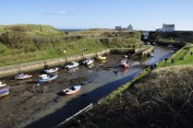 Seaton Sluice harbor