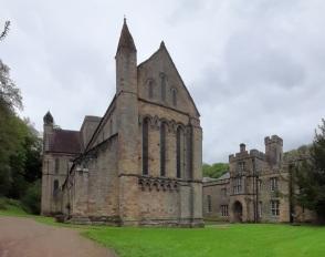 12th century Brinkburn Priory alongside the River Coquet