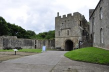 The gatehouse from the bailey