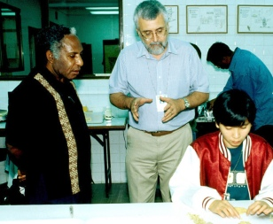 Papua New Guinea Justice Minister Jacob Wama