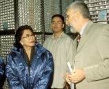Former First Lady of the Philippines, Dr Luisa Estrada