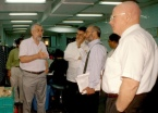 Joseph Stiglitz - Nobel Memorial Prize in Economic Sciences 2001 (second from right)