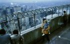 With Hannah at the top of the Empire State Building, looking out over Manhattan